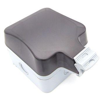 Odporny na deszcz na świeżym powietrzu na świeżym powietrzu łazienka kuchnia łazienka gniazdo przełącznika wodoodporne pudełko typ 86 IP66 tanie i dobre opinie switch waterproof box 86 type