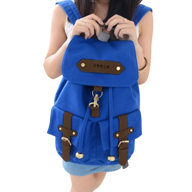 Fashion Women Backpack Men Canvas Travel Bags Retro Backpacks for Teenager Girls School Bag Famous Brands Mochila