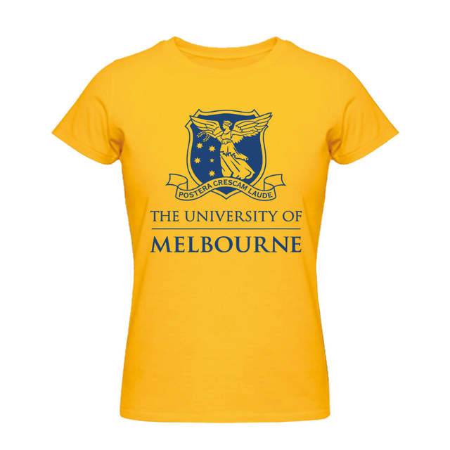 3d05929a5 placeholder AUSTRALIAN The University of Melbourne Men's Womens White T  Shirts Custom Your School Tee Shirts Personalized