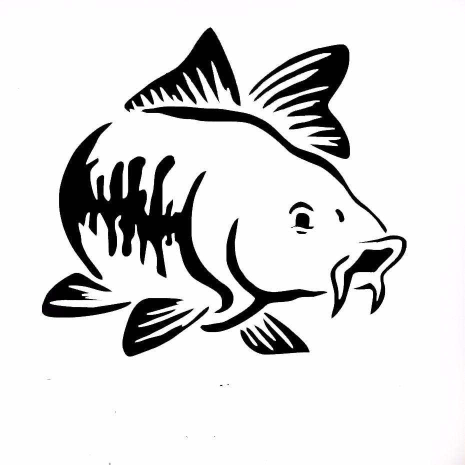 Carro De Pesca Carro De Pesca Da Carpa Carro Decalque De Vinil Adesivo De Arte Caiaque Caminhao De Pesca Barco Tribal Carro Adesivo Jdm Stickers Jdm Car Sticker Jdmcar Sticker Aliexpress