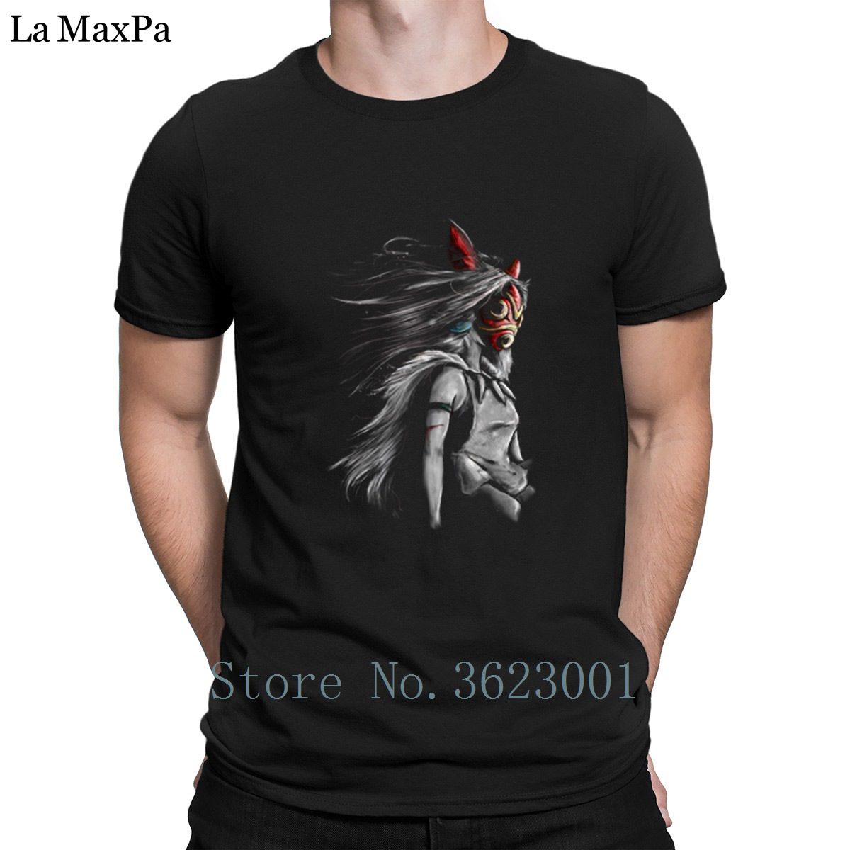 Knitted Original Tee Shirt The Fury Of The Wolf Warrior Tee Shirt 100% Cotton Hot Sale T Shirt Fun T-Shirt For Mens Latest 2018