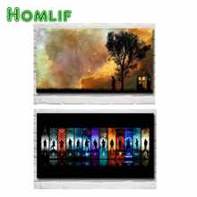 hot deal buy 3d diy square diamond embroidery doctor who television series of cross stitch resin full diamond painting 5d big size home decor