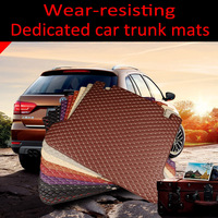 Custom fit car Trunk mats for Volvo C30 S40 S60L S80L V40 V60 XC60 5D  heavy duty carpet floor liner