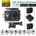 Free shipping!Full HD 4K@30fps WiFi Sports Action Camera+Dual Charger Battery Kits