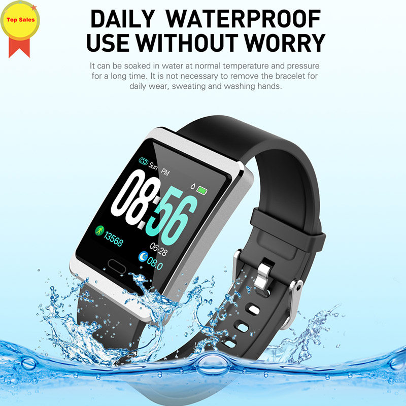 2019Smart Band 4 IOS Android Heart Rate Blood Pressure Monitor 1 3 39 39 large IPS Screen Smart Bracelet Wristband Notification push in Smart Watches from Consumer Electronics
