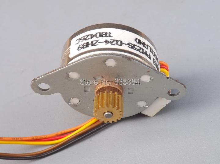 Great 5PCS NMB stepper motor dia 25mm 4 phase 5 wire stepper motor ...