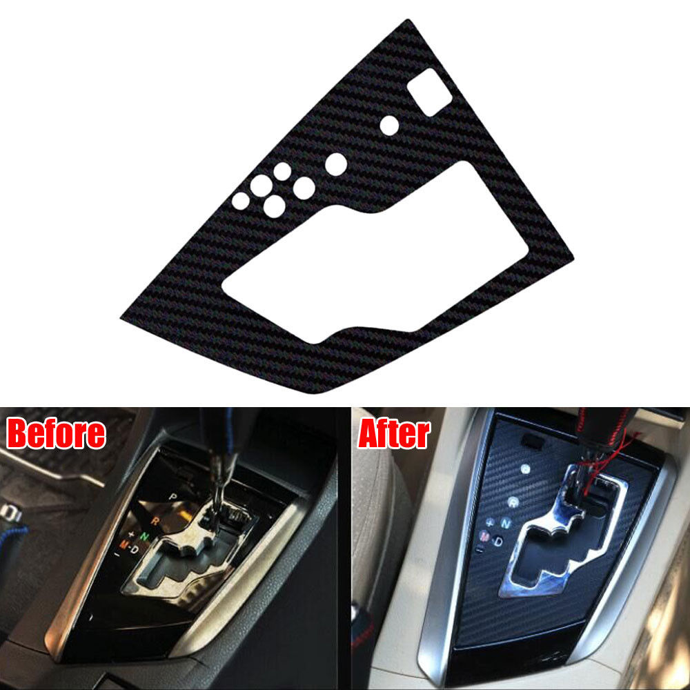 Auto Fit For 2014 Toyota Corolla Car Styling Console Gear Shift Panel Trim Cover Carbon Fiber Style Sticker Decal Accessories best top selling new stylish decal carbon fiber skin sticker for xbox one console