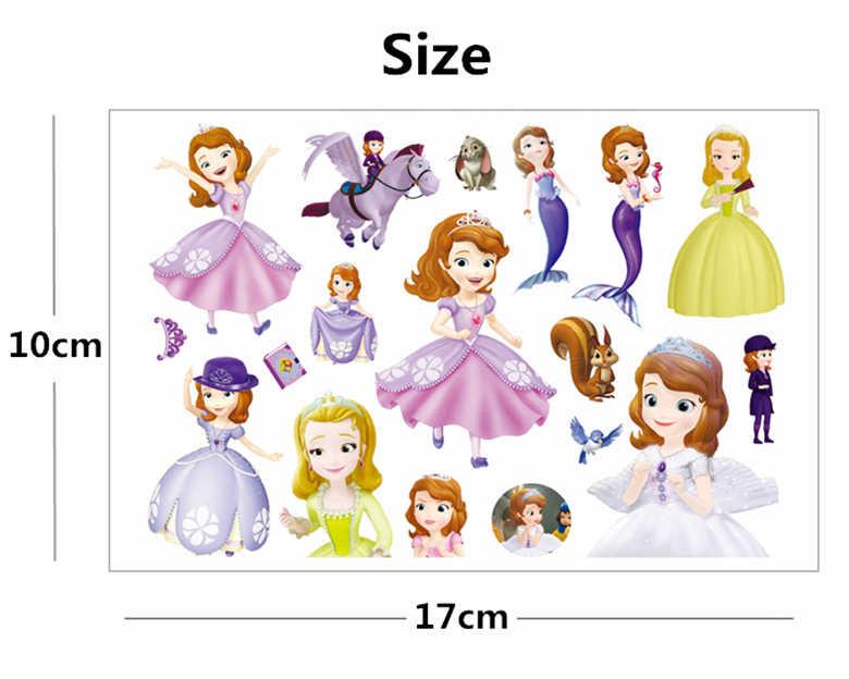 a6d4480e2 ... SHNAPIGN Princess Sofia Children Cartoon Temporary Tattoos Sticker  Fashion Summer Style Elsa Waterproof Girls Kids Boys