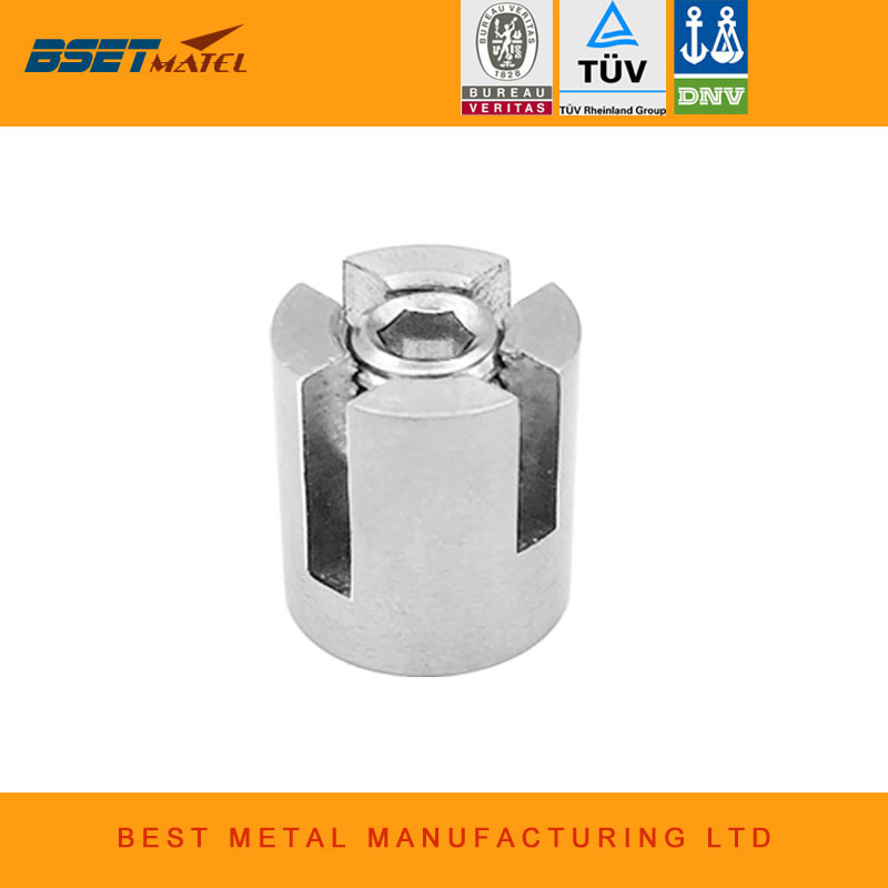 Stainless Steel Cross Clip Wire Rope Clamp Marine Grade Sus316 Trellis Systems Green Wall Cable Cross Clamp 10pcs M10*3mm Automobiles & Motorcycles