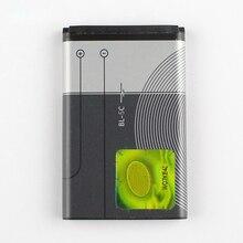 все цены на Original BL-5C phone battery for Nokia 1116 E50 E60 N70 6680 2020 6267 1000 1010 1108 1110 1112 BL5C 1020mAh онлайн