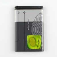 Original bateria do telefone para Nokia 1116 E50 BL-5C E60 BL5C N70 6680 2020 6267 1000 1010 1108 1110 1112 1020mAh