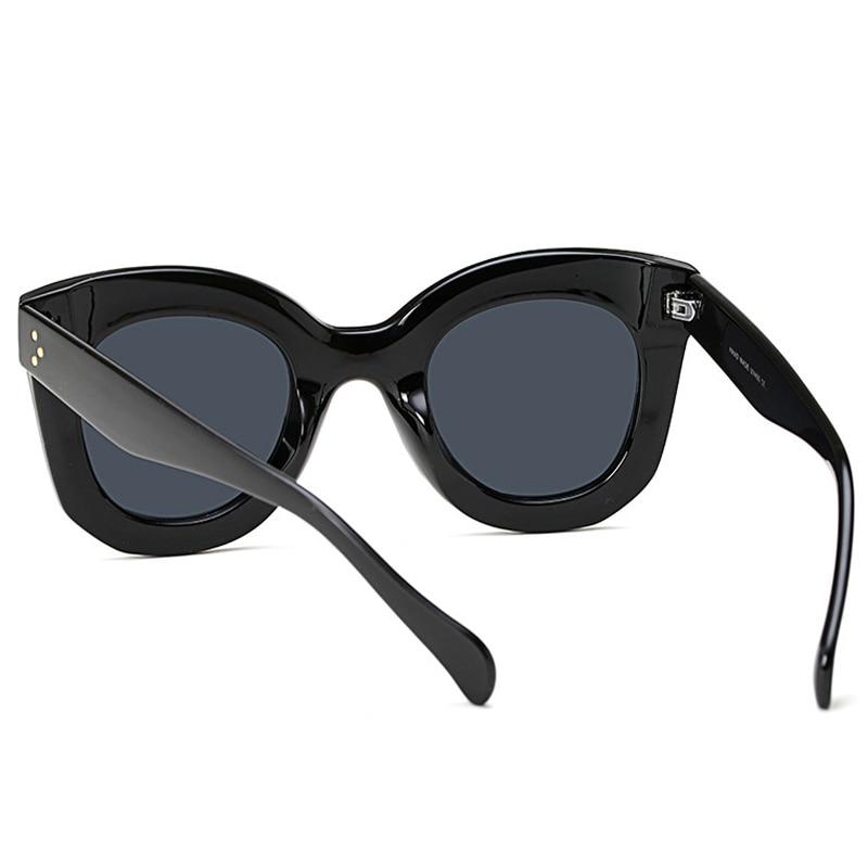 Qigge Nueva Moda Cat Eye Mujeres Gafas de Sol Mujeres Diseñador de - Accesorios para la ropa - foto 4
