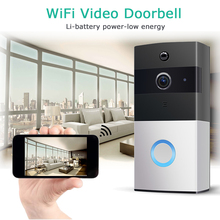 hot deal buy wireless video door phone hd pir wifi doorbell intercom 720p ip camera battery power audio tf card slot outdoor home security
