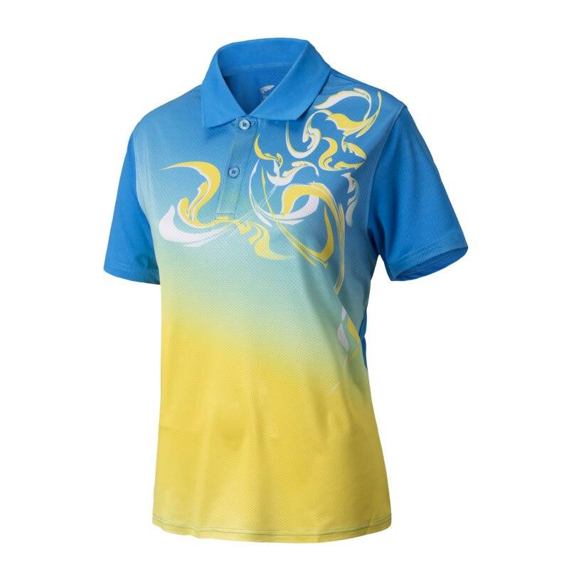 70d17da6758c0 Aliexpress.com  Comprar 2017 de secado rápido de bádminton camisas de polo  corto de tenis de mesa t camisas mujeres transpirable bádminton camisa Tenis  de ...