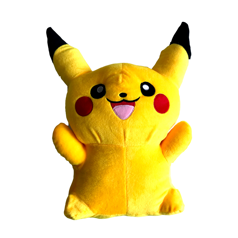 100cm Kawaii Anime Big Pikachu Plush Toy Giant Mega Go Soft Stuffed Animal Kids Doll Cute Fluffy Toys Birthday Gift for Children 20cm cute hamster mouse plush toy stuffed soft animal hamtaro doll lovely kids baby toy kawaii birthday gift for children