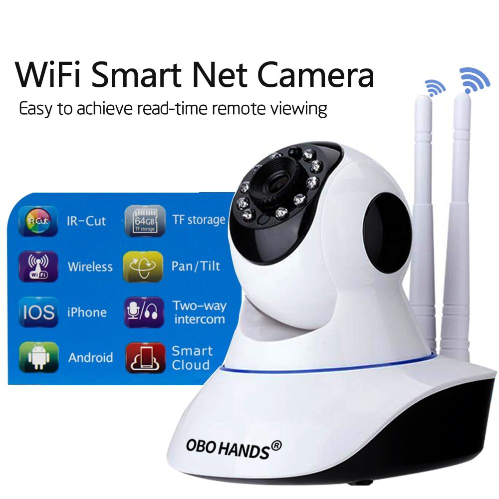 IP Camera Wireless Home Security IP Camera Surveillance Camera Wifi Night Vision CCTV Camera Baby Monitor Two Way Intercom IR