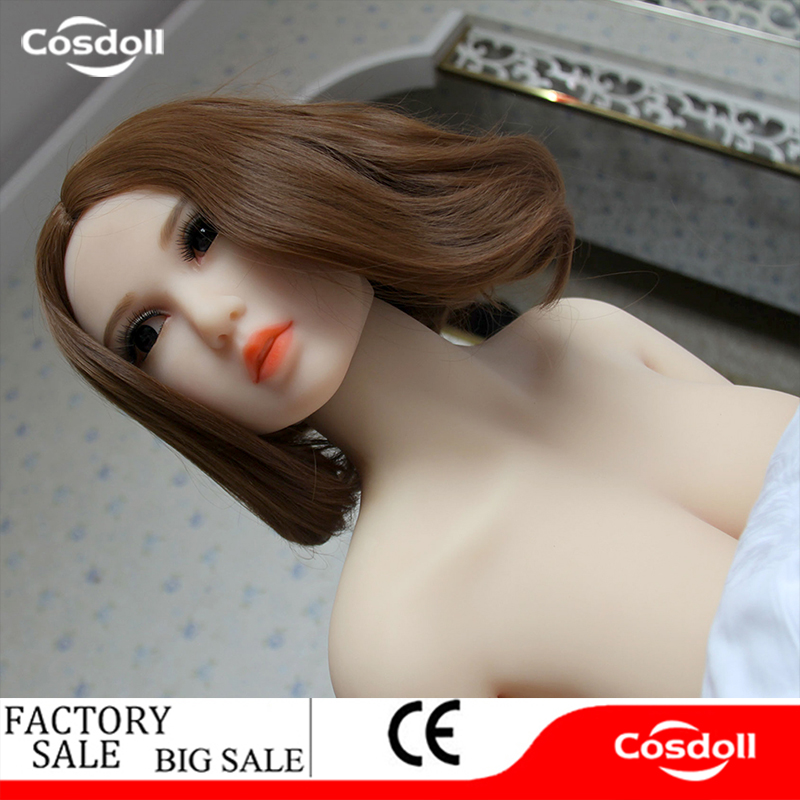 Cosdoll 140cm Top Quality Sex Doll, Full Body Silicone with Metal Skeleton Love Doll, Oral Vagina Pussy Anal Dolls Free Shipping 135cm top quality oral sex doll with metal skeleton real dolls silicone full size love dolls artificial pussy and anus