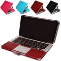 "Hot sale Business Smart Holster PU leather Bag Case Cover for Apple Macbook Air Pro Retina 11"" 13""15"" inch"