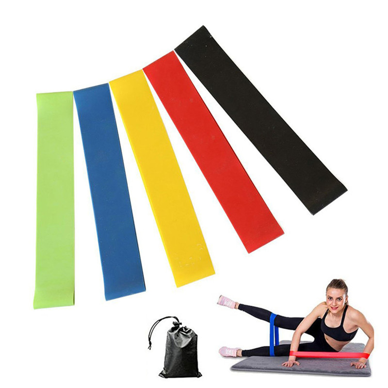 Elastic Resistance Bands Workout Rubber Loop For Fitness Gym Strength Training Elastic Bands Fitness Equipment Expander gymnastics adult latin training bands pilates yoga stretch resistance bands elastic workout fitness equipment training expander