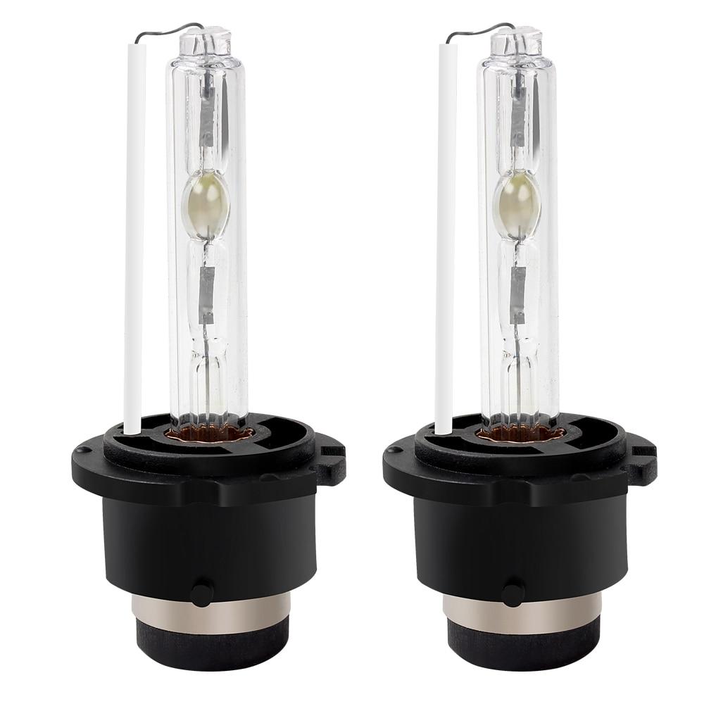 2pcs HID Car-styling Universal Head Light Lamp Car Headlight 35W 6000K D2S Xenon Bulb