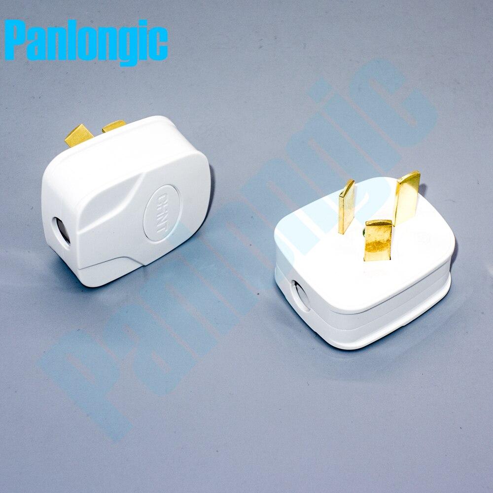 US $8.99 |2PCS Three pole Plug Home Plug 10A 250V 3 pole Plug Wiring on
