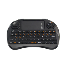 2.4G Mini Keyboard Wireless Gaming keyboard Remote Controller with Touchpad Mouse for PC Pad TV Box Home Office for RPI 3