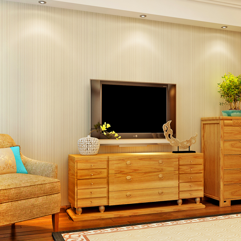ФОТО 2016 Modern  Foaming Non-woven Stripe wallpaper for desktop Livingroom home decor improvement papel de parede QZ0518