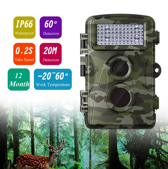 Outdoor IR Hunting font b Camera b font 0 2S Take Picture Video Day Night Wildlife