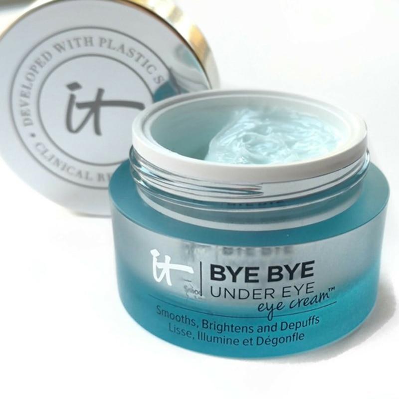 It Cosmetics BYE BYE UNDER EYEs Eye Cream Moisturizing Makeup Base Cream Eyes Make Up Skin Brighten