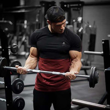 2019 Summer Mens T-Shirt Gyms Fitness Bodybuilding Slim Tshirts Men Short Sleeve Casual T Shirts Brand High Quality Printed Tops цена и фото
