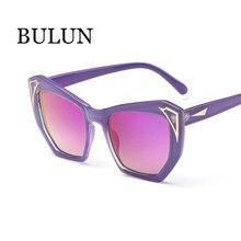 Bulun nueva moda Cat Eye Sunglasses mujeres diseñador De la marca capa De  la lente gafas De Sol para mujer gafas De Sol Feminino. 96c25667aef3