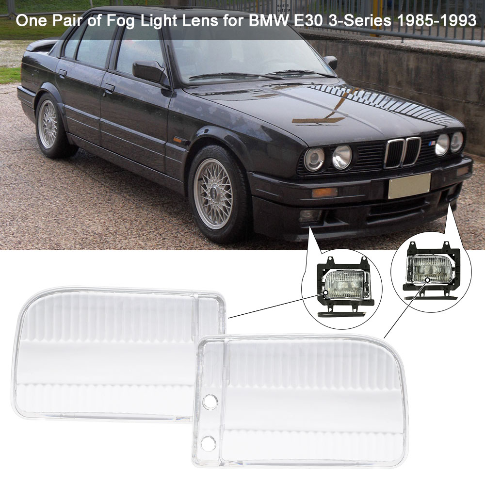 One Pair of Fog Light Lens Cover Case for BMW E30 3 Series 1985 1993-in Car  Light Assembly from Automobiles & Motorcycles on Aliexpress.com | Alibaba  Group
