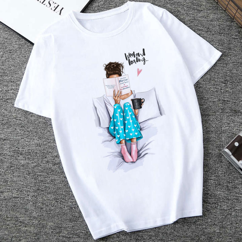 CZCCWD Women Clothes 2019 Summer Thin Section   T     Shirt   Weekend Liading Letter Fashion Female   T  -  shirt   Leisure Harajuku Top   T  -  shirt