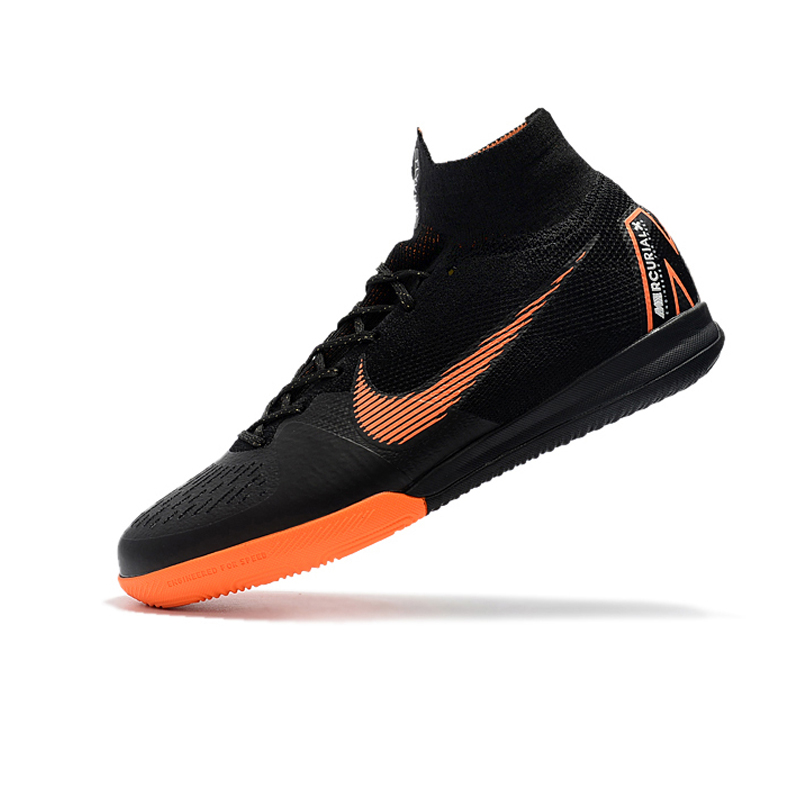 89489ef4101 Nike SuperflyX 6 Elite IC Indoor Soccer Shoes Men Waterproof Soccer Cleats  High Ankle AH7373 081 39 45-in Soccer Shoes from Sports   Entertainment on  ...