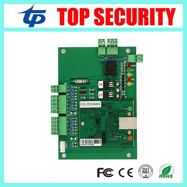 Free shipping TCP/IP one door access control board access control panel smart card door access control system L01 biometric fingerprint access controller tcp ip fingerprint door access control reader