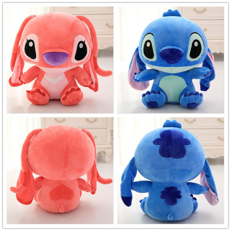 Kawai Stitch Plush Doll Toys Anime Lilo and Stitch 50cm Stich Plush Toys for Children Kids Birthday Gift50cm kawaii stitch plush doll toys anime lilo and stitch 25cm stich plush toys for children kids birthday gift