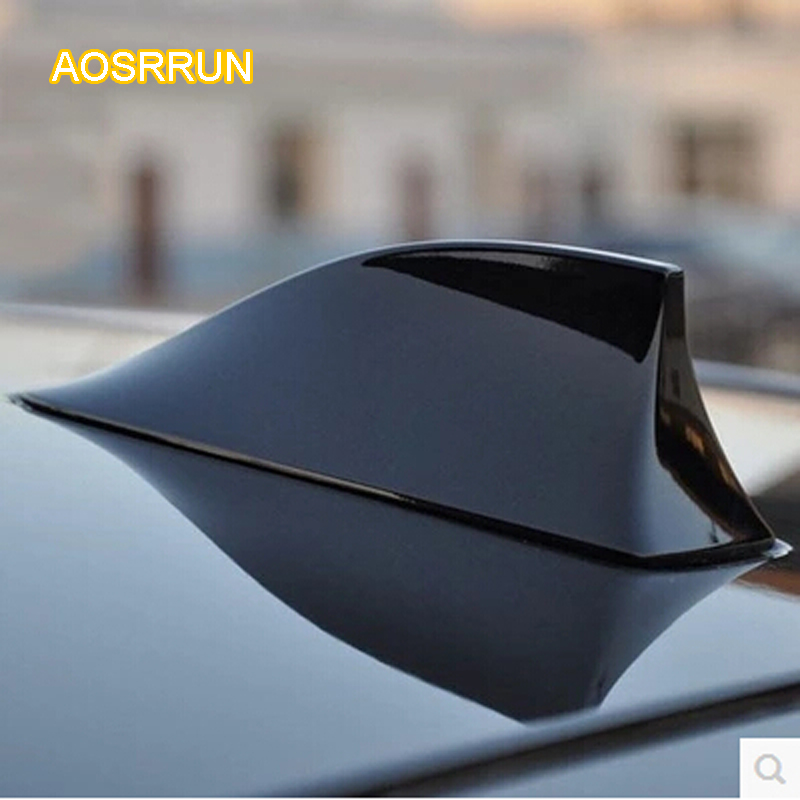 AOSRRUN Antenna decorations Shark fin antenna for Ssangyong Korando Rexton Kyron Actyon chairman Rodius covers Car Accessories image