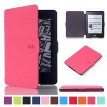 Kindle Paperwhite 1 2 3 чехол Магнитный PU кожаный смарт-чехол для 6 «Amazon Kindle Paperwhite все поколения до 2018 Funda