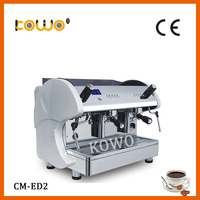 professional ce rohs cafe electric espresso coffee maker semi automatic stainless steel italian coffee machine with milk frother