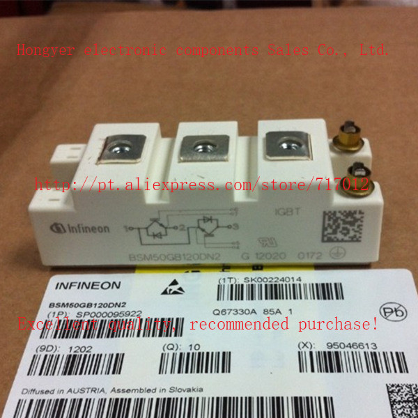 Free Shipping BSM50GB120DN2 New EUEPC INFINEON IGBT Module 50A 1200V Can Directly Buy Or Contact The
