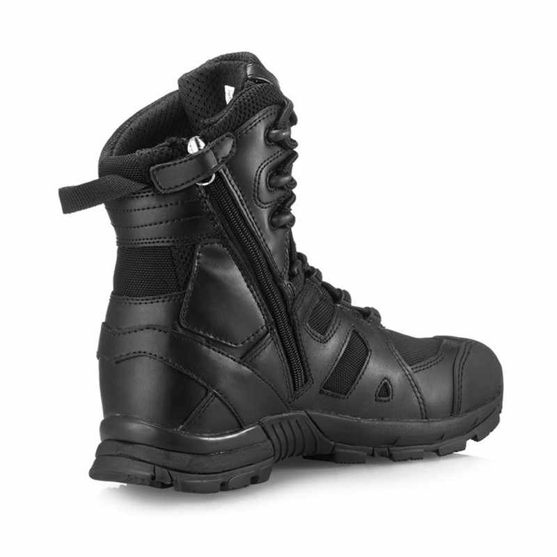 5f5d2f72b9 ... ATZB Military Tactical Combat Outdoor Sport Army Men Boots Desert Botas  Hiking Autumn Shoes Travel Leather ...