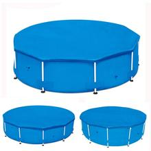 Pool Cover Folding Pool Round Swimming Cover for Ground Swimming Pools Inflatable Ground Cloth Swimming Pool Accessory