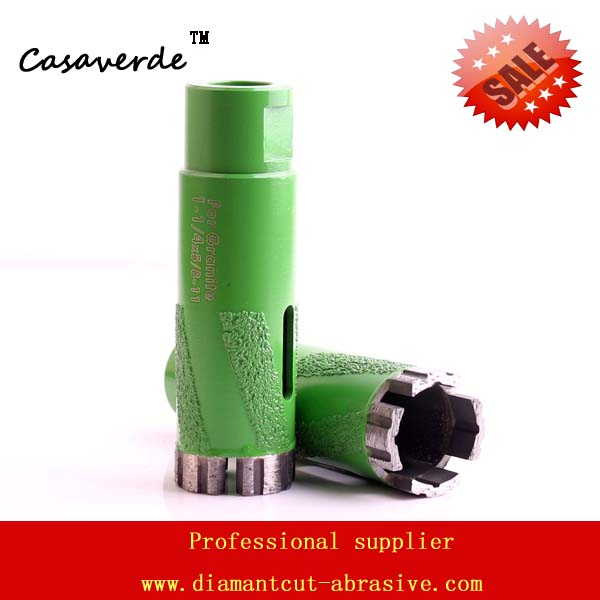 Hole saw 1-1/4'' diamond stone dry core bit for drilling countertop