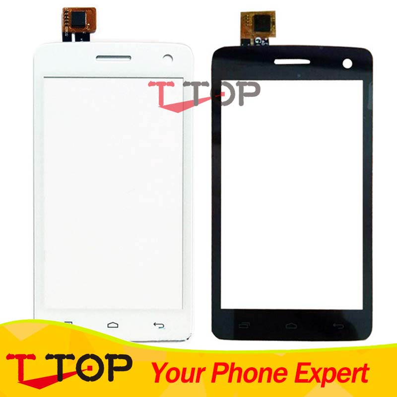 Black White Touch Panel For Fly IQ4490i Era Nano 10 IQ 4490i Touch Screen Digitizer Front Outer Glass Repair Parts 1PC/Lot