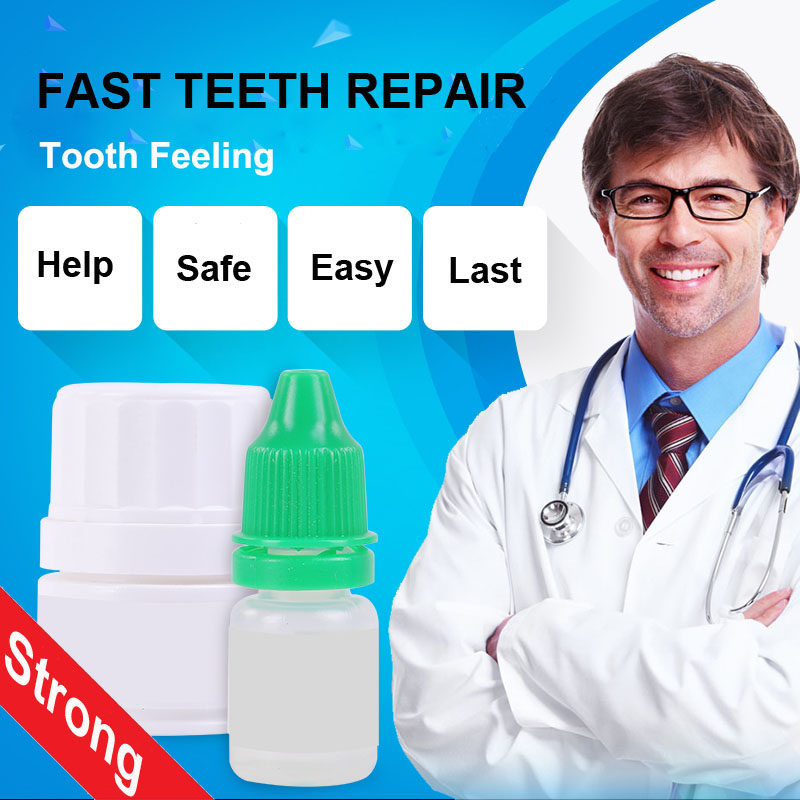 Teeth Filling Glue Cavity Dental Dentist Nurse Doctor Seal Bond Tooth Repair Accessory Kit Tool Fix Medical Adhesive Care Cure image