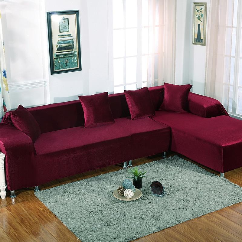 Case On The Sofa Corner L Shape Sofa Covers Slip Universal