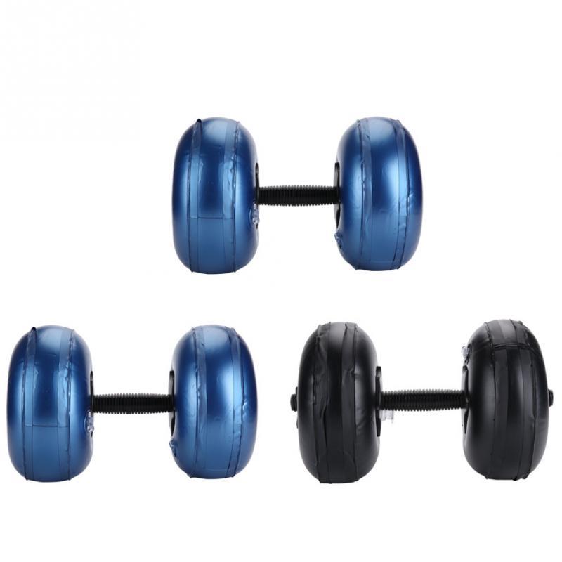 Portable Adjustable Anti-leak Water-filled Dumbbell Set 8-10kg/16-20kg Pvc Dumbbell Bodybuilding Gym Barbells Fitness Equipment