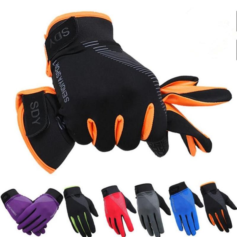 Женские и мужские велосипедные перчатки DICHSKI, зимние ветрозащитные перчатки с сенсорным экраном для езды на мотоцикле и велосипеде, ветрозащитные перчатки Перчатки для велоспорта      АлиЭкспресс