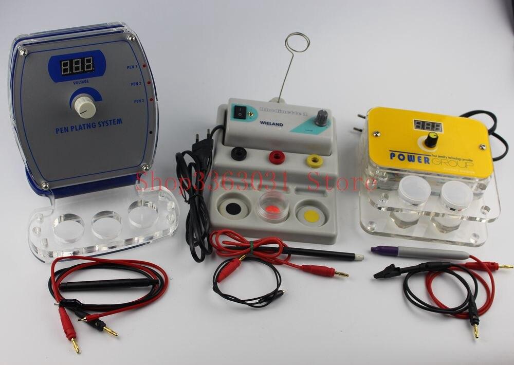 Nouveauté 220 V stylo Plater bijoux placage Machine or argent bijoux système de placage outils