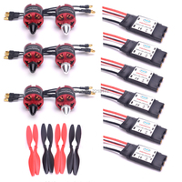 2212 920KV CW CCW Brushless Motor 30A Simonk ESC with 5V 2A BEC 1045 Propeller for F450 S500 F550 S550 Quadcopter Multicopter